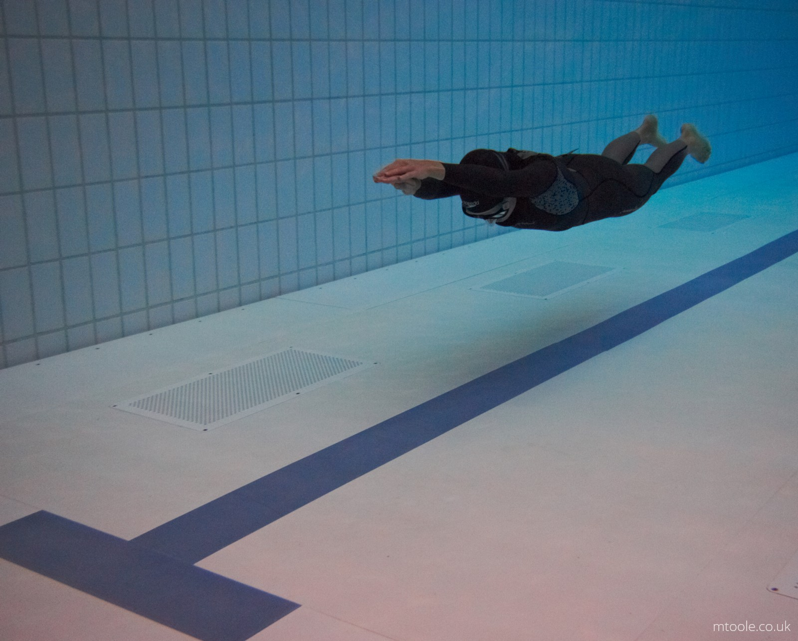 Huddersfield UK Pool Freediving Competition Freediver