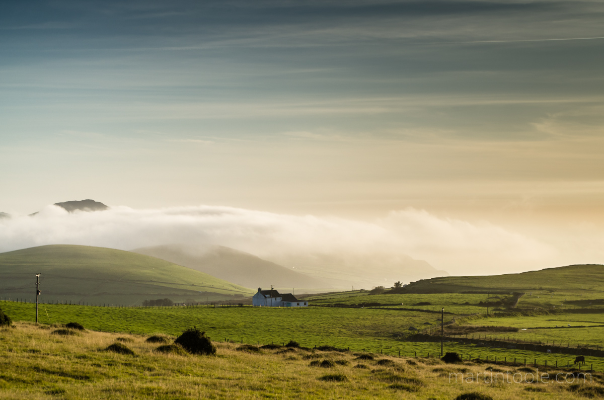 Welsh Cottage Above A Cloud Inversion, Llithfaen